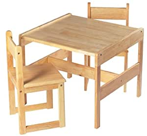 Craftsman Table With 2 Chairs