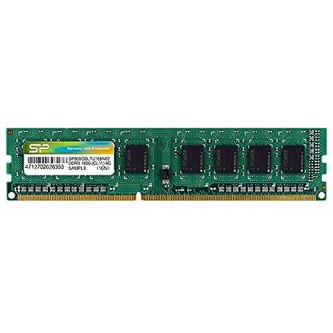 SILICON POWER DIMM 8GB DDRIII 1600MHZ 512*8