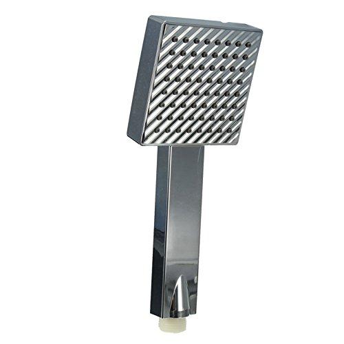 Duschkopf Handbrause Ersatz Chrom Küchenarmatur Herausziehen Spray Wasserhahn Waschbecken Badezimmer Automatischer Boost Und Wassereinsparung, Einfach Zu Installieren -