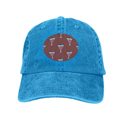 Xunulyn Classic Unisex Baseball Cap Adjustable Alcohol Drinks Beverages Cocktail Daiquiri Lager Refreshment Blue - Oregon Lager