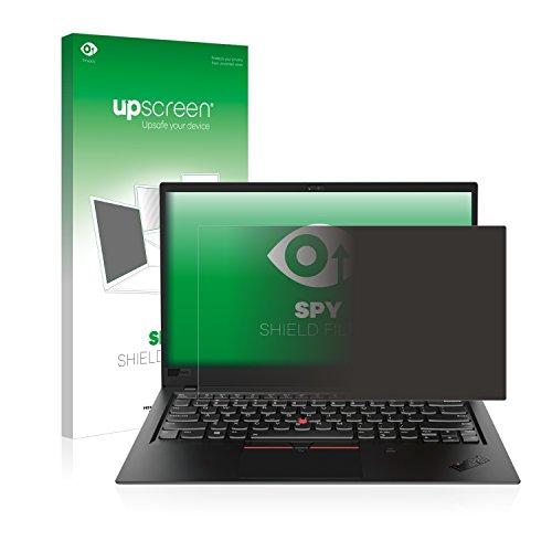 upscreen Blickschutzfilter kompatibel mit Lenovo ThinkPad X1 Carbon (6. Generation) Privacy Filter - Anti-Spy Blickschutzfolie Sichtschutz-Folie