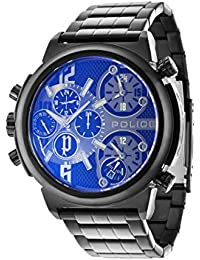Police PL13595JSB/61MA PL.13595JSB/61MA - Reloj para hombres, correa de acero inoxidable color gris