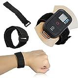 madridgadgetstore® Nastro Cinturino in velcro regolabile per Smart Wi-Fi Remote compatibile con fotocamere GoPro HD hero4hero3+ Hero 43+ 32Session