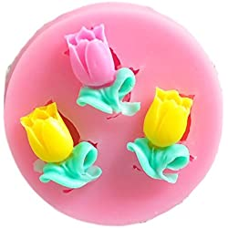 SaySure - Flower shower party fondant molds,silicone mold soap