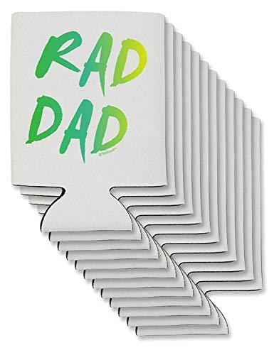 Rad Dad Design – 80er Jahre Neon Bierdosen Kühlhüllen – 12 Stück
