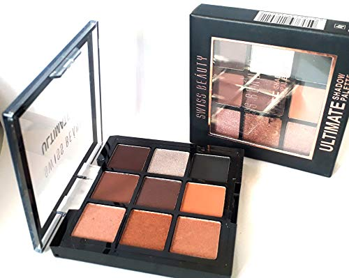 Swiss Beauty Ultimate Eye Shadow Palette with Natural 9 Color 05