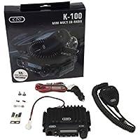 K-PO K-100V2 MIni - Emisora movil CB 27 mHz AM/ FM + conector de mechero 12 voltios