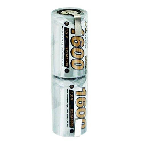 1600mAh Akku O14 passend für Braun Oral B, OralB Sonic Complete mit 2,4 Volt