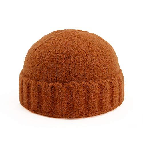 LINSID Bekleidung-Koreanische Version von Herbst und Winter Paar Wollmelone Hut warme Kopfbedeckungen Männer und Frauen Hut Strickmütze - Katze Im Hut Kostüm Mann