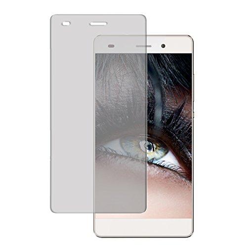 mtb more energy Bildschirm Schutzglas aus Tempered Glass für Das Huawei P8 Lite (5.0'') // 9H - 2.5D - Schutzfolie Glasfolie Protector