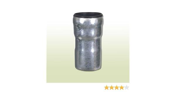 Standrohr verzinkt anthrazit 1m DN100 mit Reinigungsöffnung /& Zubehör d=100mm