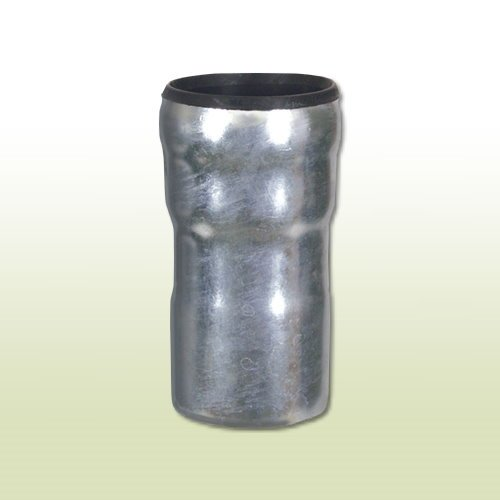 Adapter Dachrinne (Übergangsstück von KG-Rohr DN 110 auf Standrohr DN 100)