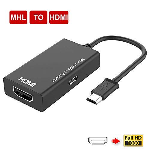 Adaptador MHL, MHL a HDMI, Micro USB a HDMI, Convertidor de dispositiv