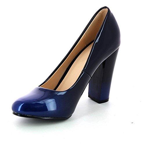 Go Tendance, Damen Pumps Blau
