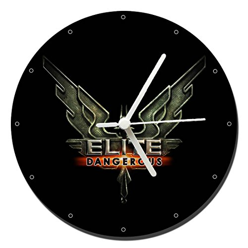 MasTazas Elite Dangerous Reloj de Pared Wall Clock 20cm