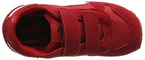 Puma Unisex-Kinder St Runner Nl V Inf Low-Top Rot (barbados cherry-puma white 15)