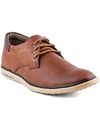 Isole Brown Corporate Casuals Shoes