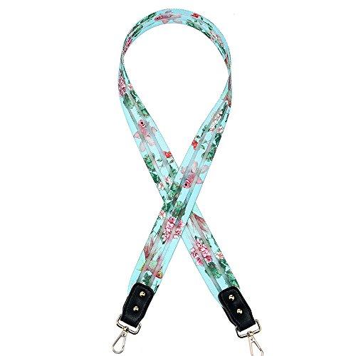 YsinoBear Wide Straps für Taschen Retro Plaid Pattern Gewebte Schultergurt für Handtaschen DIY Zubehör - Plaid Strap