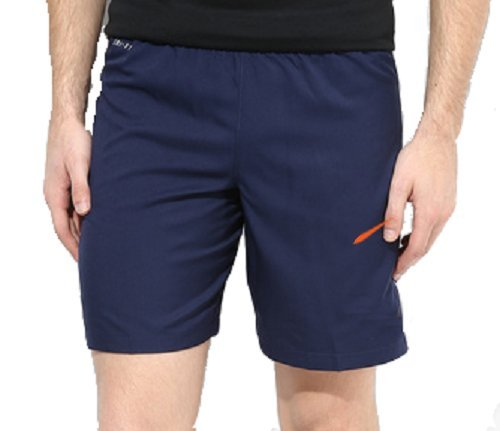 FINZ Men's Polyester Beach/Bermuda/Casual/Running Shorts( T9-SH_GR9, Blue)