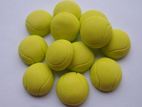 Fondant Cupcake Topper-Tennis balls- Sport Party Cupcake Kuchen Topper