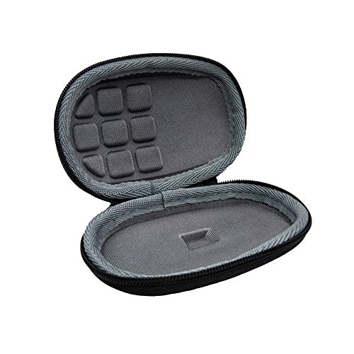 obiqngwi für den elektronischen Wettkampfsport, stoßfestes Hard Case Aufbewahrungstasche für Logitech MX Anywhere 2S Mouse - Schwarz (Chromebook Tastatur Rosa)