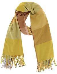 d81a87e03d6 Amazon.fr   Echarpe A Carreau - Jaune   Vêtements