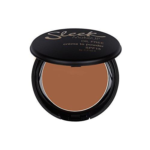 Sleek Make Up Fond de teint crème poudré Sépia 9 g