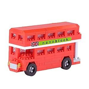 Nanoblock NAN-NBH113 London Tour Bus - Puzzle 3D con Parte Superior Cerrada