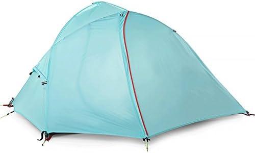 ZYN Tenda Tenda Tenda da esterno in alluminio 2 persone Campeggio individuale tenda da arrampicata doppio strato resistente alle intemperie (dimensioni   2109297CM) B07FG1KDV8 Parent | Forte calore e resistenza al calore  | Lascia che i nostri prodotti vadano nel mo 6d9316