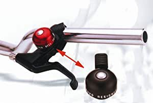 Mini- sonnette velo fixation levier de frein