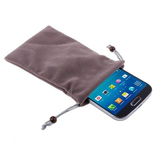 Phone case & Hülle Für IPhone 6 & 6S, Universal Soft Flanell Tragetasche mit Perle Button ( SKU : S-SCS-6636B ) S-SCS-6636DG