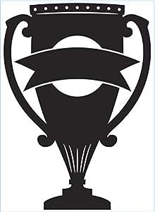 Darice- Carpeta de Estampaciã³n A6, Plantilla Trophy Estampación, Color transparente, 30032591)