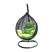 Danube Home Hanging Chair - Green