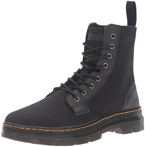 Dr.Martens Womens Combs Waxy Canvas Canvas Boots Schwarz loPVSgCNy7