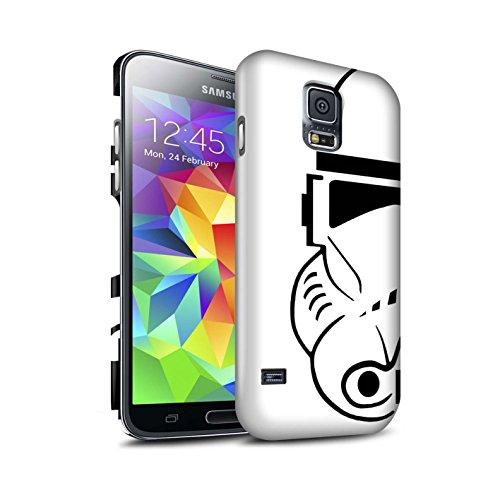 Stuff4 Matte Duro Snap On Custodia/Cover/Caso/Cassa del Telefono per Samsung Galaxy S5 Neo/G903 / Clone Soldato/Assalto Soldato Casco Disegno