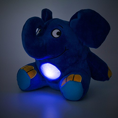 Imagen 6 de Ansmann 1800-0014 - Elefante de peluche con luz nocturna y nana para dormir [Importado de Alemania]