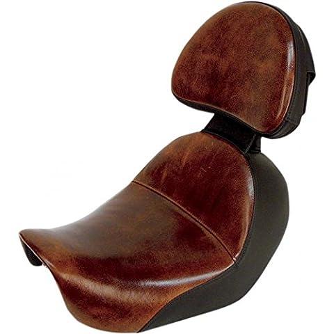 Saddlemen Leather Driver Backrest for Lariat Solo Seat 11567B