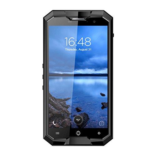 """HOMTOM ZOJI Z8 - 5,0"""" 4G FDD-LTE Smartphone, IP68 Resistente all'acqua e alla polvere, Android 7.0 Octa Core 4GB+64GB, Impronte Digitali, OTG, 4250mAh, Fotocamera 13MP+16MP, 2-SIM, Telefono Cellulari Sbloccato"""