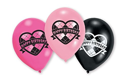 amscan Monster High 6 Latex Luftballons
