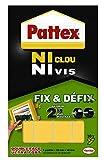 Henkel - Pattex - Ni Clou Ni Vis - Fix & Defix - 9H 686662 - Blister de 10 pastilles de fixation non permanente repositionnable...