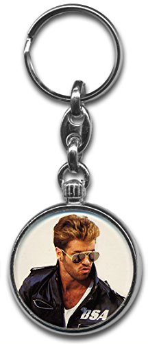 george-michael-keyring