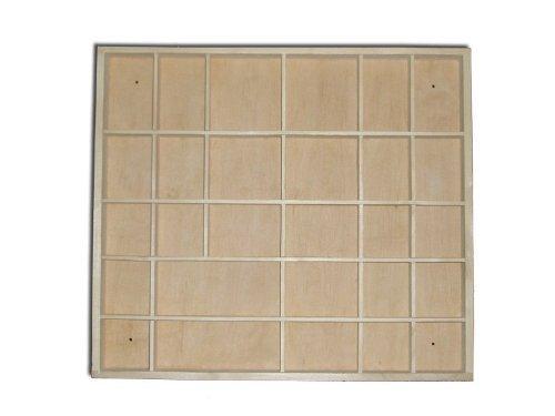 Plain Wooden Display Unit/ Display Shelves/ Trinket Shelf by HomeDecoArt