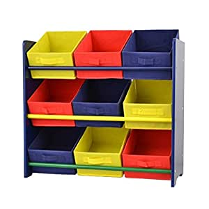 tag re meuble de rangement enfant bacs de rangement multicolore 66x30x70cm. Black Bedroom Furniture Sets. Home Design Ideas