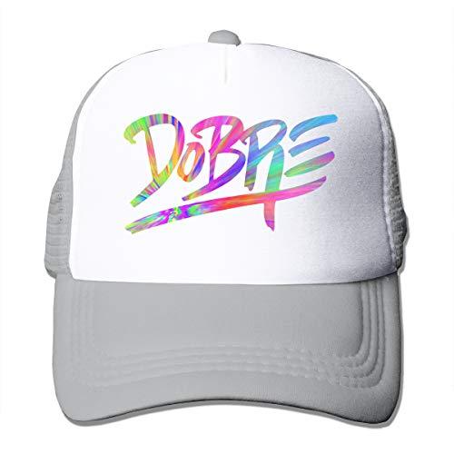 Dobre-Brothers Verstellbare Mesh Baseball Cap Hats Hip-Hop Hat Herren Sport Schwarz Gr. Einheitsgröße, grau Johnson Brothers Cup