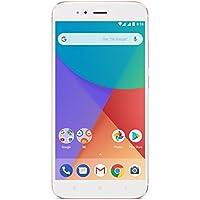 """Xiaomi Mi A1 - Smartphone libre de 5.5"""" (4G, WiFi, Bluetooth, Snapdragon 625 2.0 GHz, 64 GB de ROM ampliable con microSD, 4 GB de RAM, cámara dual de 12 Mp, Android One), oro rosa [versión española]"""