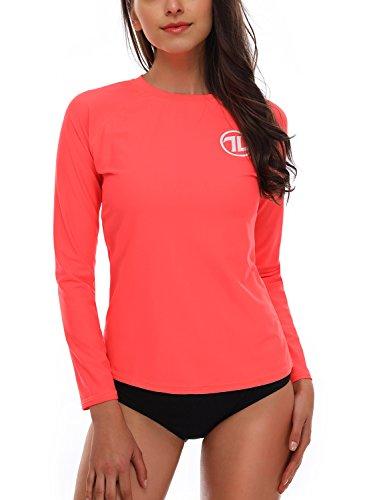 Taylover Damen UV Shirts Surf Shirt Tshirt Damen Tshirts T-Shirt Fitness Tshirt Tees Tshirts