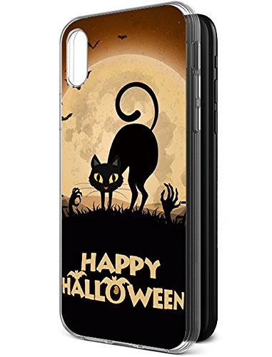Cute Slim Case für Apple iPhone X/iPhone 10(2017) Happy Halloween Serie, Design-11
