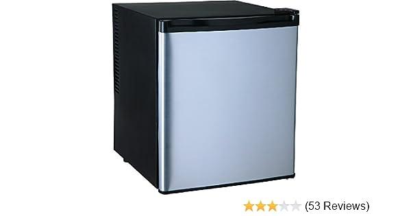 Kleiner Kühlschrank Silber : Syntrox germany a silber schwarz 55 liter geräuscharmer 25 db mini