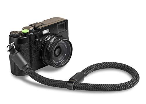 ROPSTER Kamera Handschlaufe aus stylischem Bergsteiger Seil - Universal DSLR SLR Trageschlaufe für Nikon, Canon, Sony, Olympus, Fuji UVM. - Vintage Handgelenk Kameraband - Camera Wrist Strap