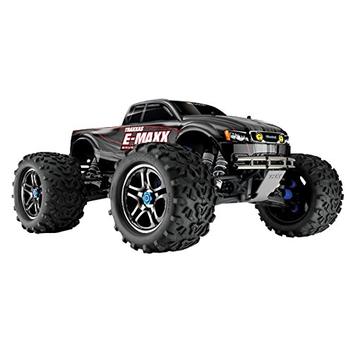 Traxxas - 2042100 - Voiture Radiocommandé - E-maxx - Brushless - Ready To Race - Monster Truck